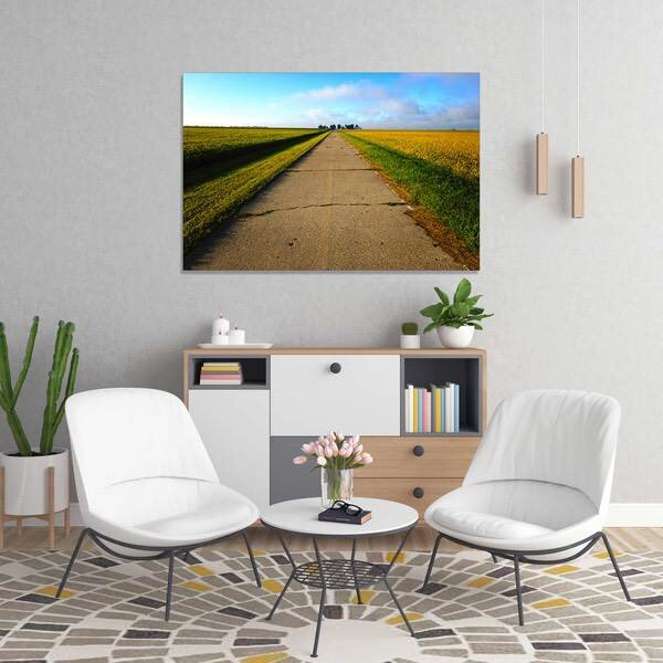 America Route 66 the Mother Road Iconic Landscape Poster Canvas Pictures