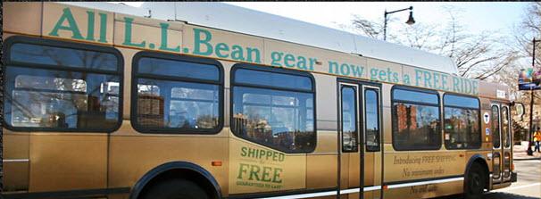 LL Bean Bus
