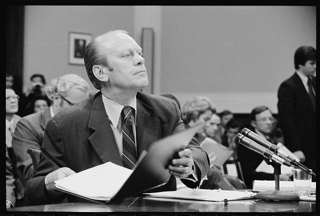 Gerald Ford: Library of Congress Prints and Photographs Division Washington, D.C. 20540 USA
