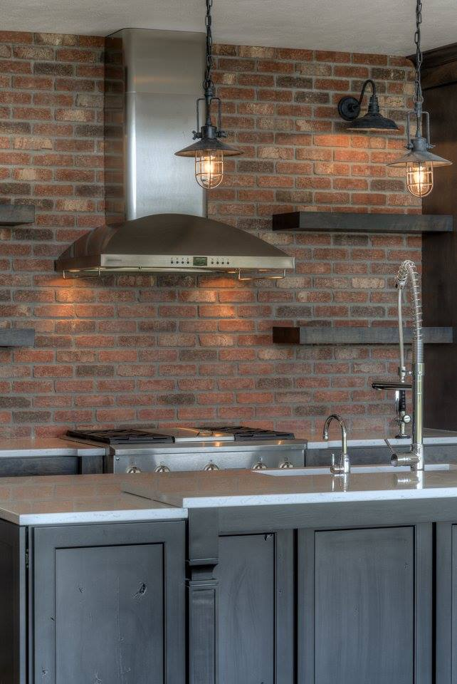 CKF | Industrial Chic Kitchen Design