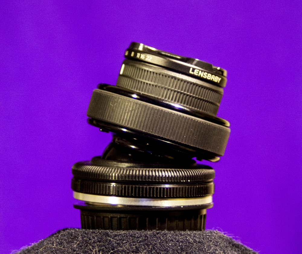 Lensbaby Composer Pro with 'Edge 80'mm optic.    This is a specialty lens that makes for dreamy effects.