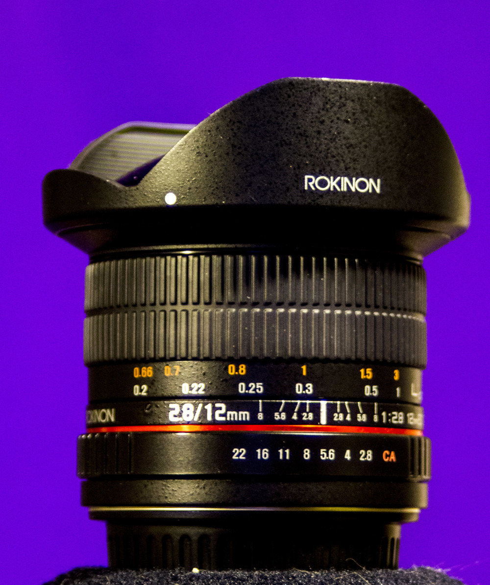 Rokinon 12mm f2.8 fisheye    This is another specialty lens, but is it a specialty if I used it a LOT?