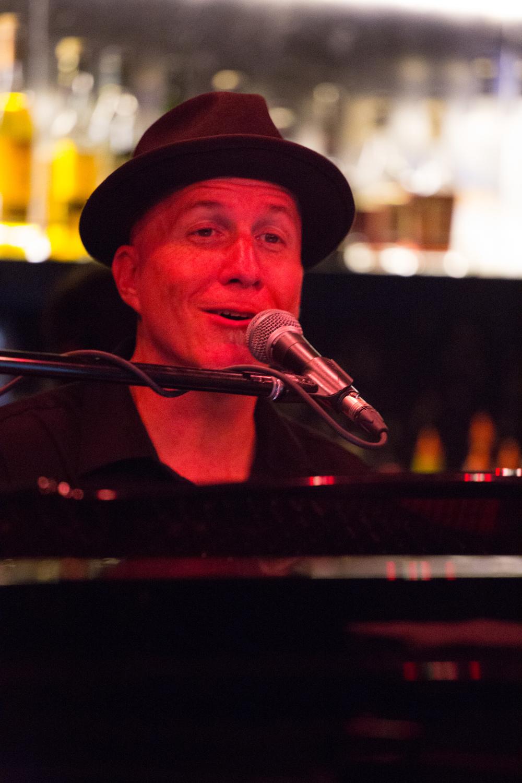 Gregg, in the Piano bar!
