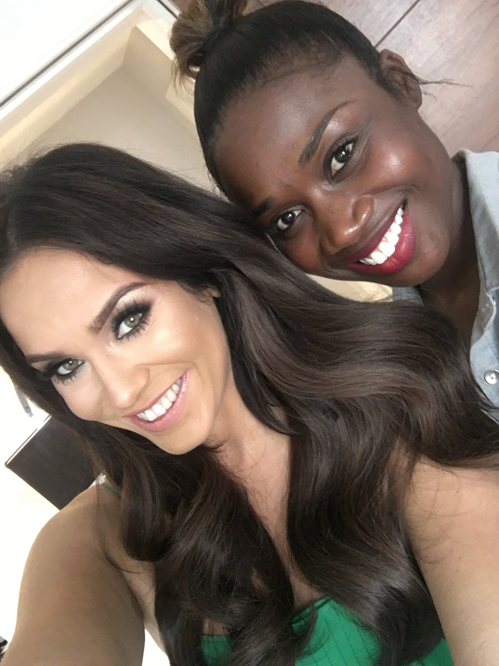 Vicky Pattison and Charlene Bent