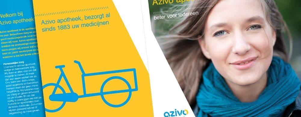 huisstijlimplementatie Azivo apotheken