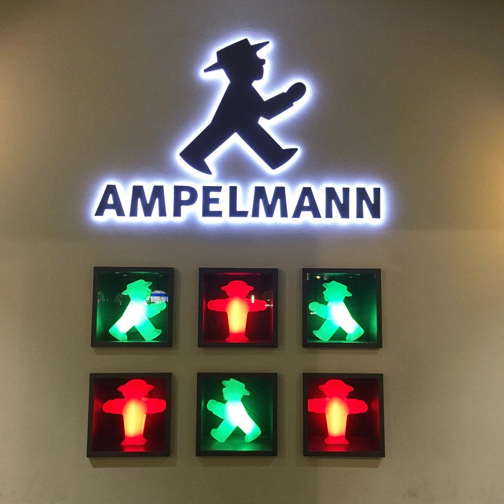 Het stoplichtmannetje uit Oost-Berlijn