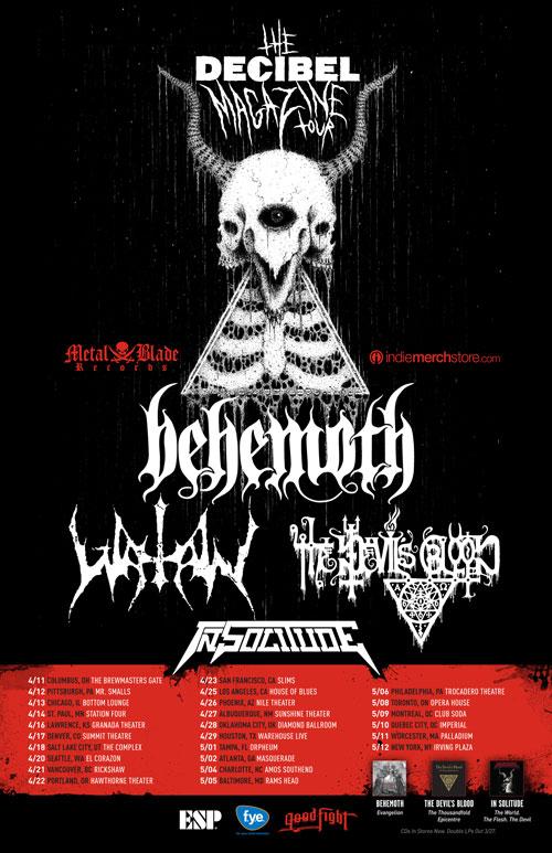 Decibel Magazine Tour 2012