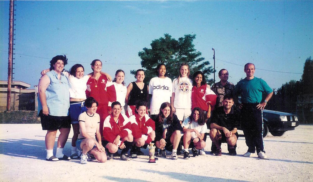 Coleman's Sports For Understanding Soccer team in Italy, 1996