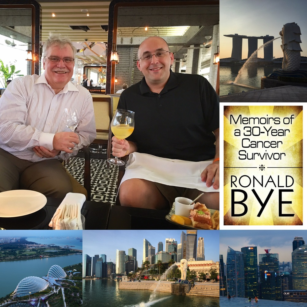 Meeting Ron Bye in Singapore, March 25th, 2016. Singapore has always been near and dear to my heart ever since I first set foot there in 2005, while also on business travel. A chance encounter with this living legend here has now endeared the country to my heart! What an amazing place, in so many ways!