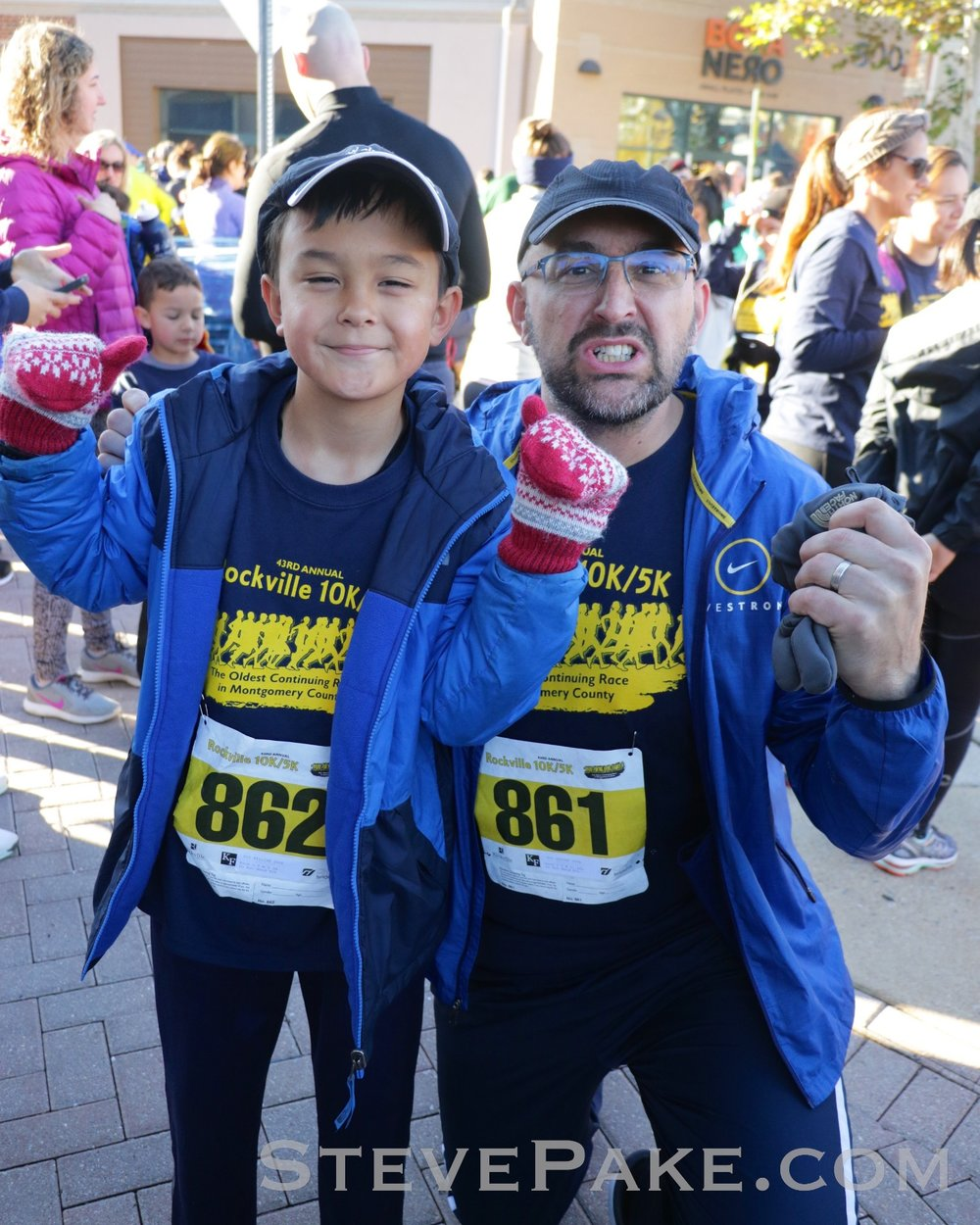 For our second 5K of 2019, we did the Rockville 5K which runs right through our neighborhood. I just never had time to really train and did another 31 minutes, but William hauled and did a low-29 minute time. He's a natural! So proud! :)