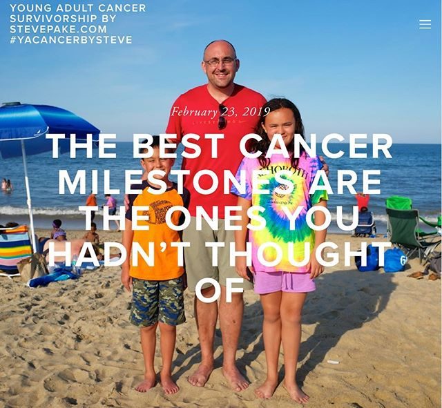 NEW BLOG: And just like that in the blink of an eye, the tiny little munchkins that I was terrified of not being around for when I was diagnosed with cancer, are both 10 and over now. I'm so grateful for all of the time I've had to be with them and pray I'll be around for many more, but my worst fear, my children growing up without knowing their father, will never be realized. There's nothing better than that. 😊👨👧👦😍🙏🙏 . . #cancersucks #cancersurvivorproblems #youngadultcancer #testicularcancer #yacancerbysteve