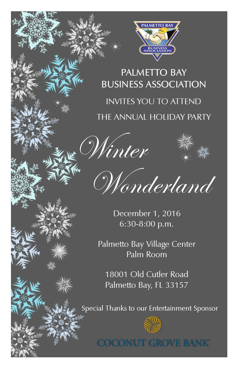 Event Calendar — Palmetto Bay Business Association