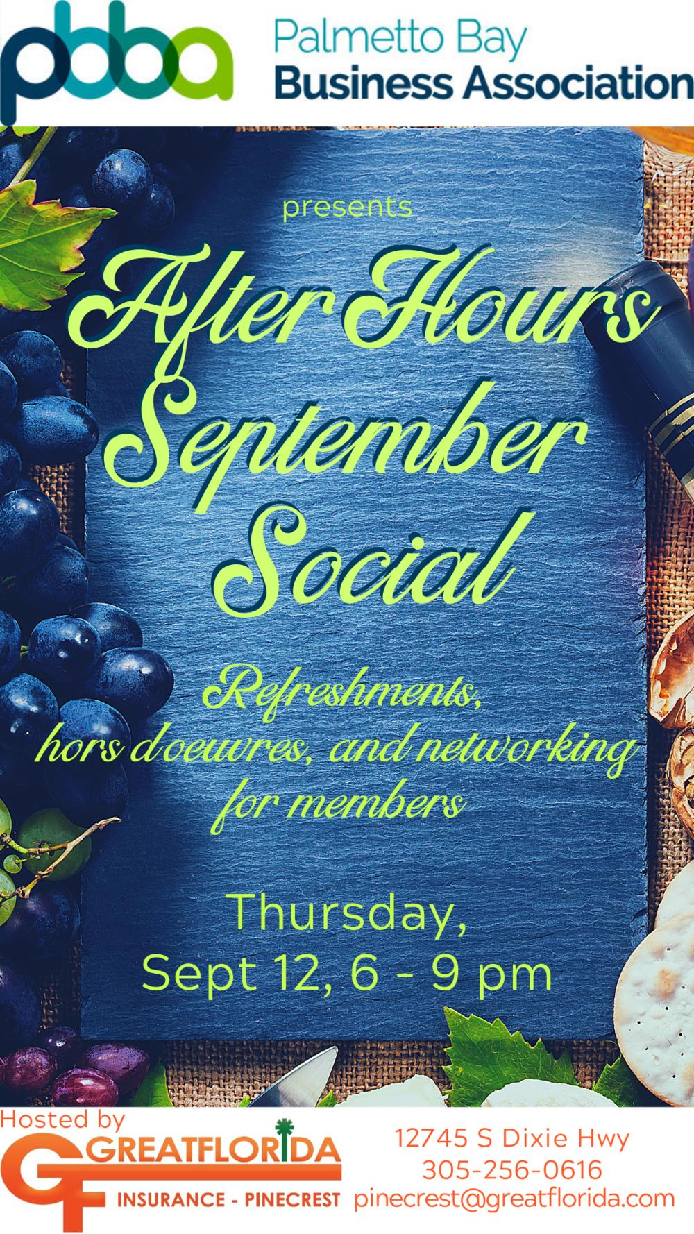 Event Calendar — Palmetto Bay Business Association