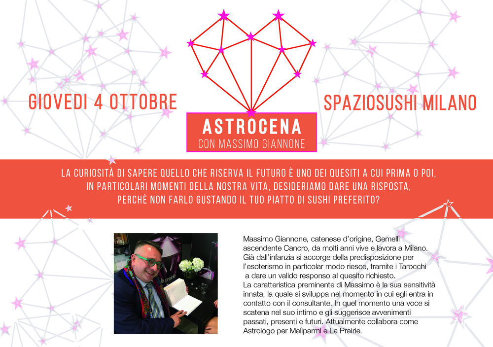 Astrocena Spazio Sushi Milano