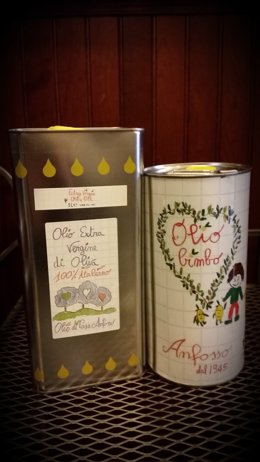 Extravergin olive oil from Ligurian region Italy by Anfosso