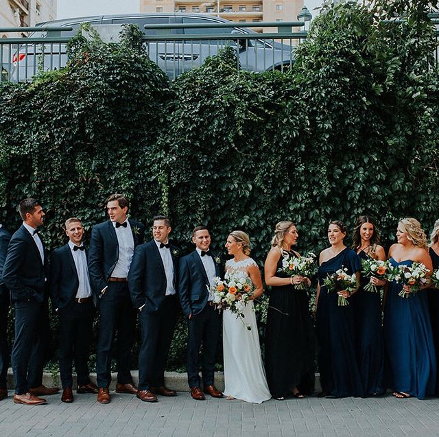 This greenery-filled wedding from @stonehouseweddings has everything I love about Winnipeg weddings! See why on the blog via the link in our profile 😍 ⠀⠀⠀⠀⠀⠀⠀⠀⠀ Photography - @kampphotography (Dwayne Larson) ⠀⠀⠀⠀⠀⠀⠀⠀⠀ Florals - @stonehouseweddings ⠀⠀⠀⠀⠀⠀⠀⠀⠀ Day of Coordination - @amandadouglasevents ⠀⠀⠀⠀⠀⠀⠀⠀⠀ Venue and Catering - @wag_ca ⠀⠀⠀⠀⠀⠀⠀⠀⠀ Stationery - Designed by bride Heather and printed at  @vantagestudios ⠀⠀⠀⠀⠀⠀⠀⠀⠀ Cake and Sweets - @buttercreambyalareen ⠀⠀⠀⠀⠀⠀⠀⠀⠀ DJ - @platinumproductions_wpg (DJ Paul) ⠀⠀⠀⠀⠀⠀⠀⠀⠀ Hair - @hair.by.raech at @edwardcarrieresalon ⠀⠀⠀⠀⠀⠀⠀⠀⠀ Makeup - @makeupbyjodieb and @kieraandtheglamour from @gracehill_salon ⠀⠀⠀⠀⠀⠀⠀⠀⠀ Dress - Tara Keely from @blissbridalboutique ⠀⠀⠀⠀⠀⠀⠀⠀⠀ Suit - Custom Suit by Vittorio Rossi Clothiers ⠀⠀⠀⠀⠀⠀⠀⠀⠀ Transportation - Five Star Bus lines .