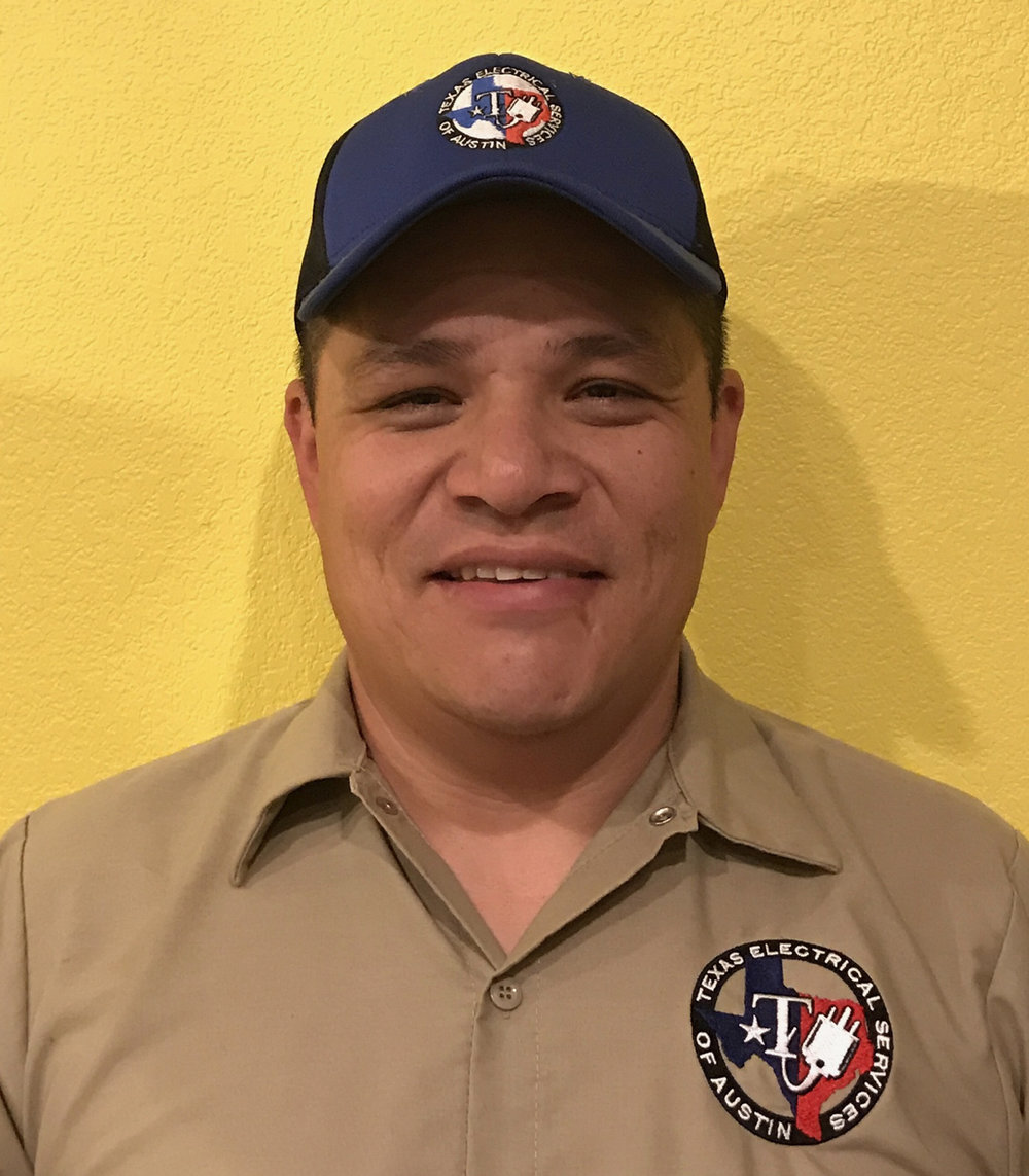 Efren Oranday - Journey Electrician/Field ManagerTDLR 9814