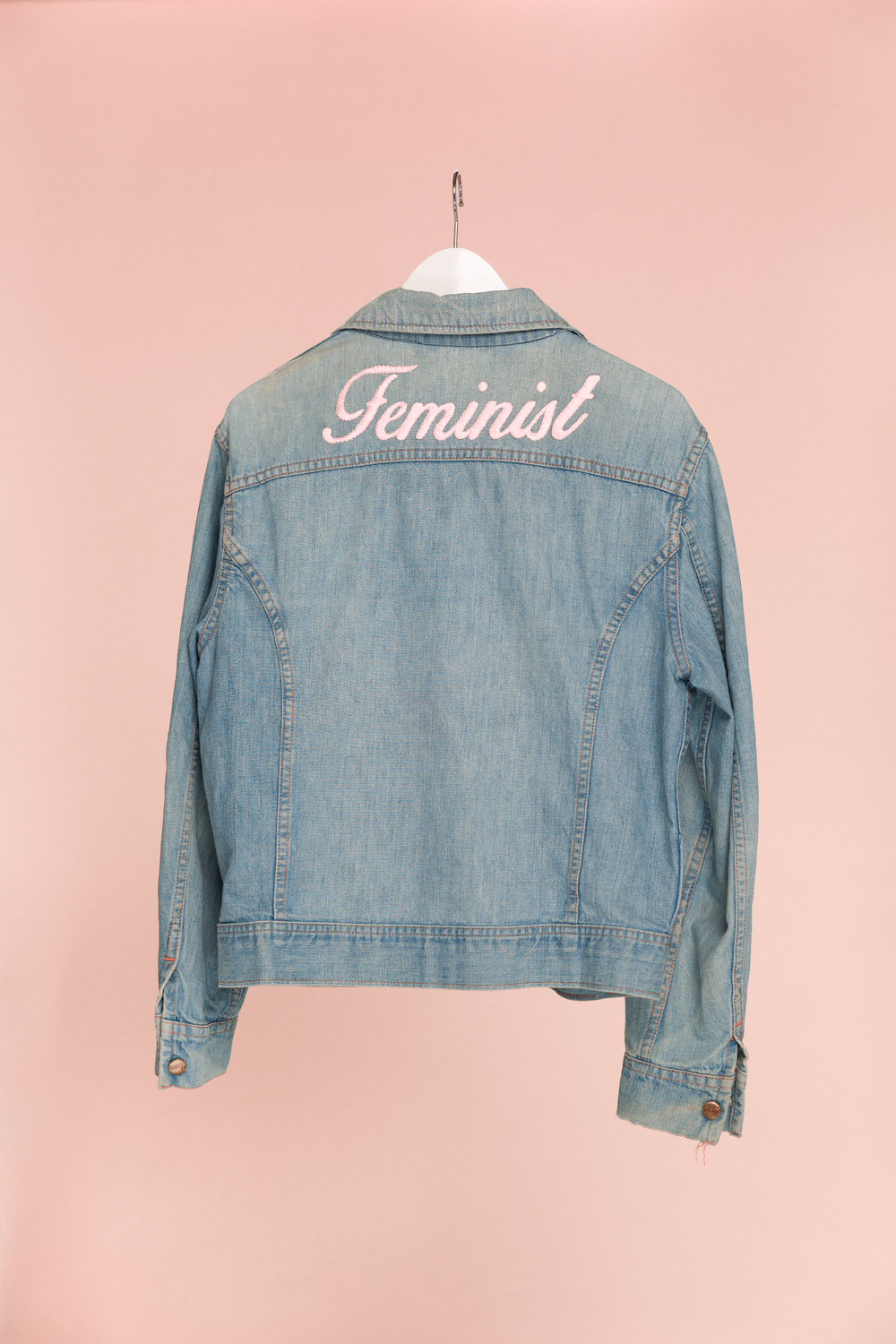 FEMINIST available in: Bubble - $240 Outline - $160 Cursive - $80