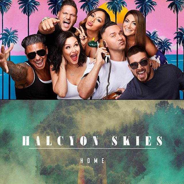 """tune in to @mtv tonight to hear our song """"Home"""" as they send off the series finale of @jerseyshore ! #sunstonerecordings @sunstonerecordings #bmgpm #makemusicmakemoney #jerseyshore #stahp"""