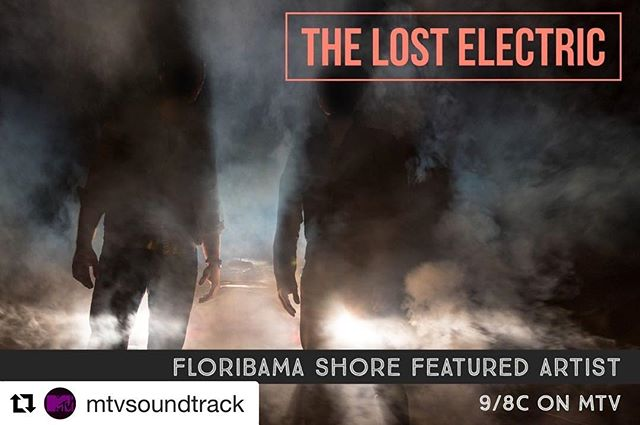 #Repost @mtvsoundtrack ・・・ What better way to start your Thursday evening than with the #SeasonPremiere of @floribamashore tonight featuring music by @thelostelectric and more! Happy listening! LINK IN BIO 💥 #MTV #Floribama Shore
