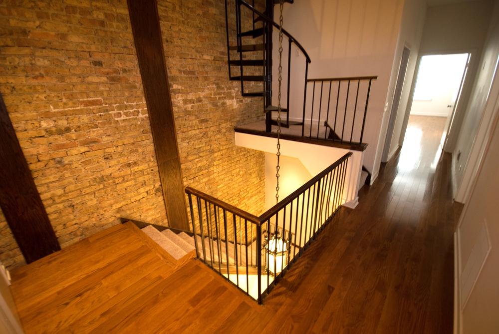 Z - 2727 Clark - Three Bedroom Hallway Stairs.jpg