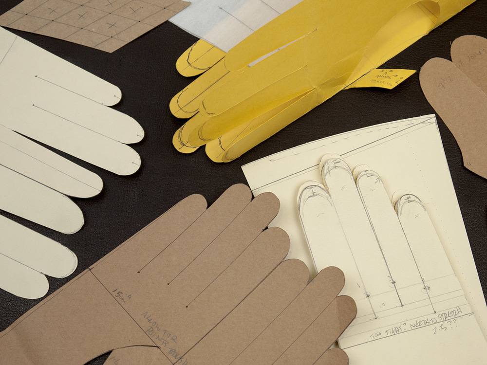 vintage gloves inspire new creations