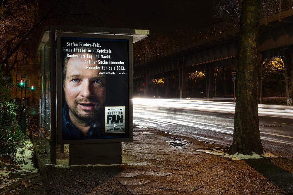 gasag, grösster fan campaign