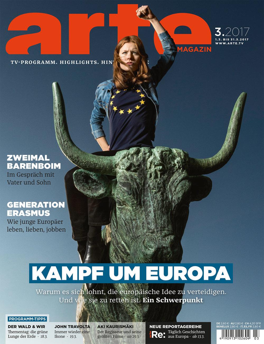 Cover ARTE Magazin, Europa