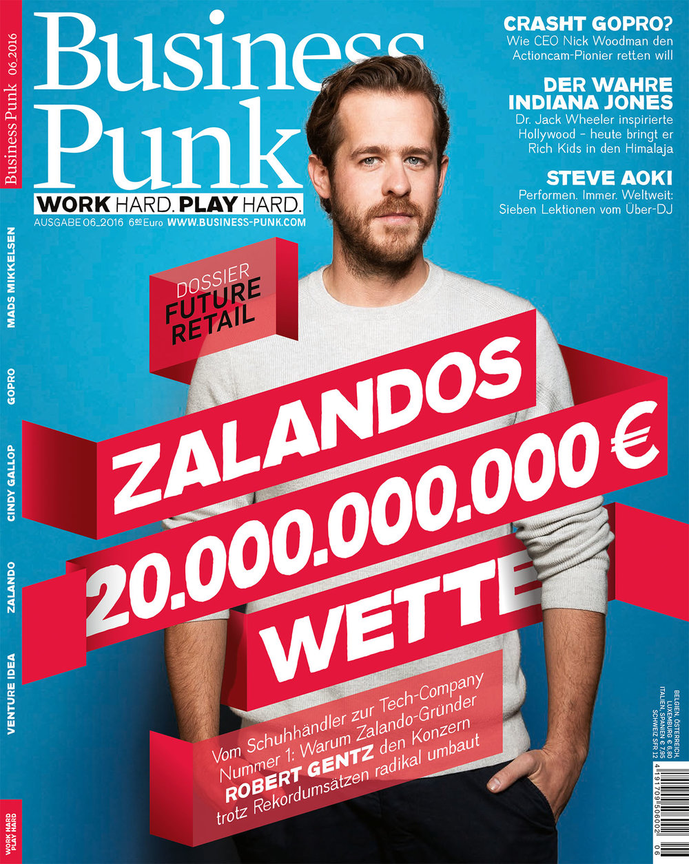 Robert Gentz Zalando, Business Punk Cover
