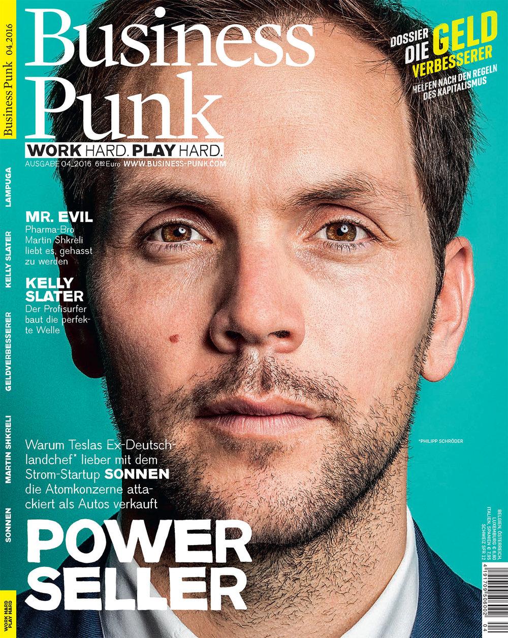 Philipp Schröder Sonnen gmbh, Business Punk