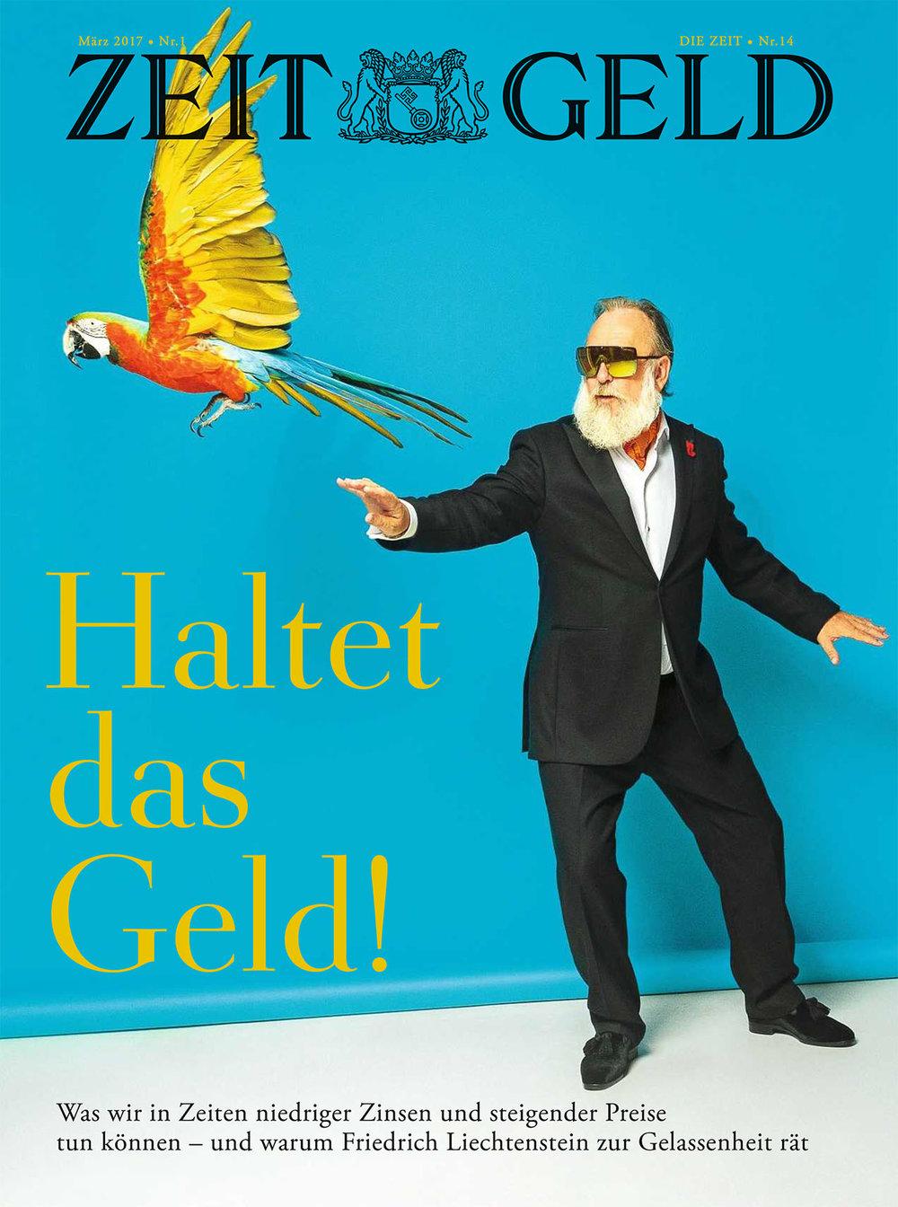 Friedrich Liechtenstein, COVER ZEIT GELD