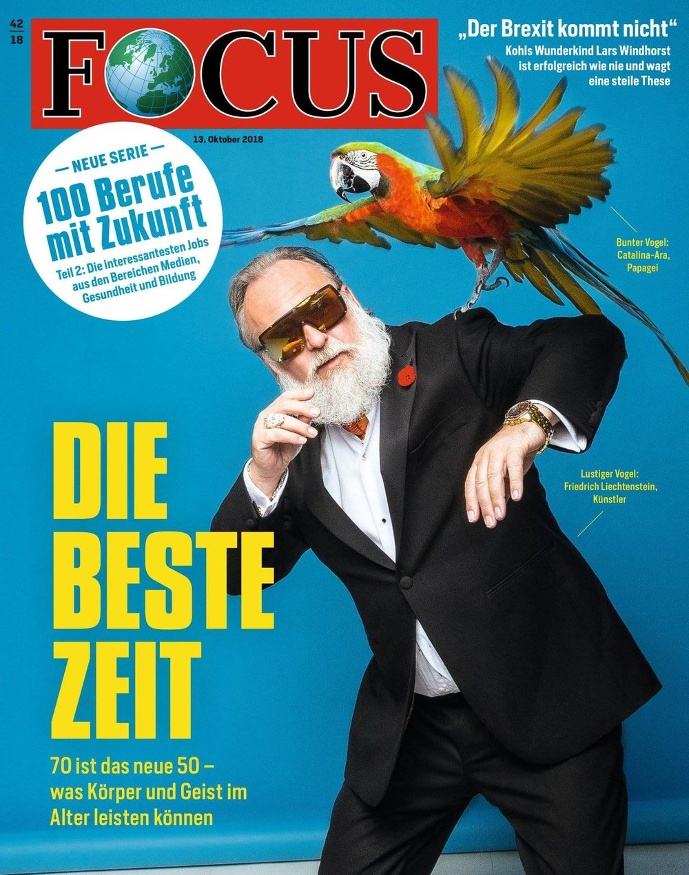 Cover Focus Magazin October 2018