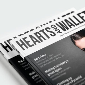 BrandLoyalty, Hearts and Wallets  Visual Identity / Editorial design / Graphic design