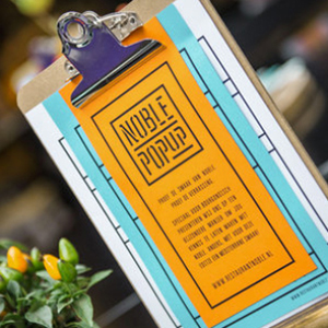 Noble Pop-Up  Brand Identity / Visual Identity / Photography