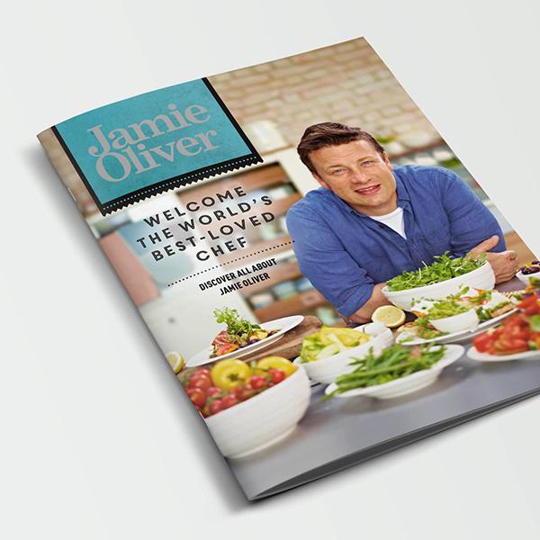 BrandLoyalty, Jamie Oliver  Visual identity / Packaging