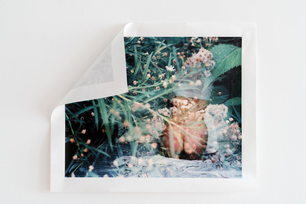 Memorical Fictions . Xan Shian. 24 x 28 in. Colour Inkjet print on Kozo paper. 2017.