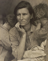 Human Erosion in California (Migrant Mother), Dorothea Lange, 1936
