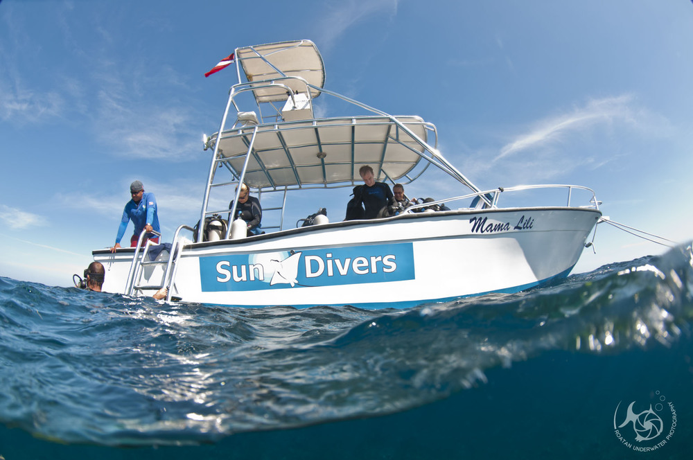 Sundivers, a preferred partner of Roatan Underwater Photography,  is a full service dive center located in West End, Roatan.