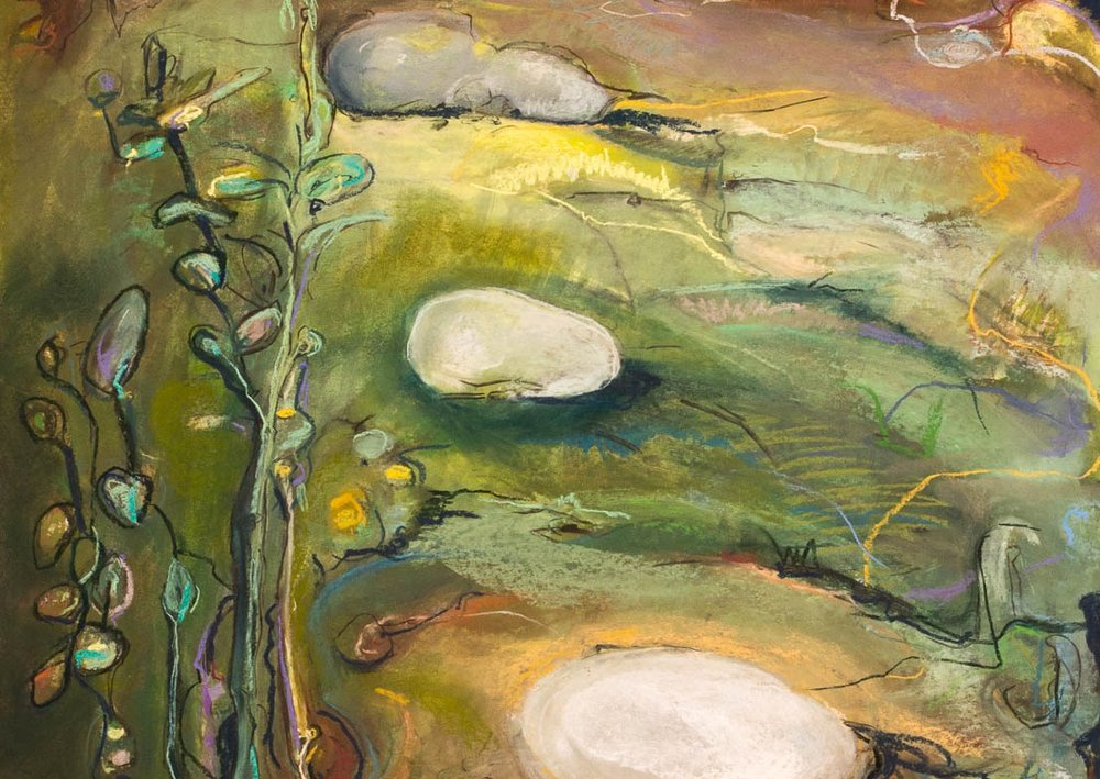 Forest Beckons (detail), by Kate Henderson