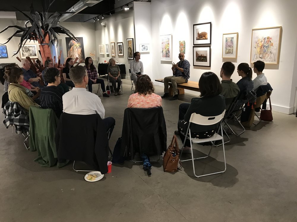 Image from 2018 Conversation centered around Beauty and Love as Resistance