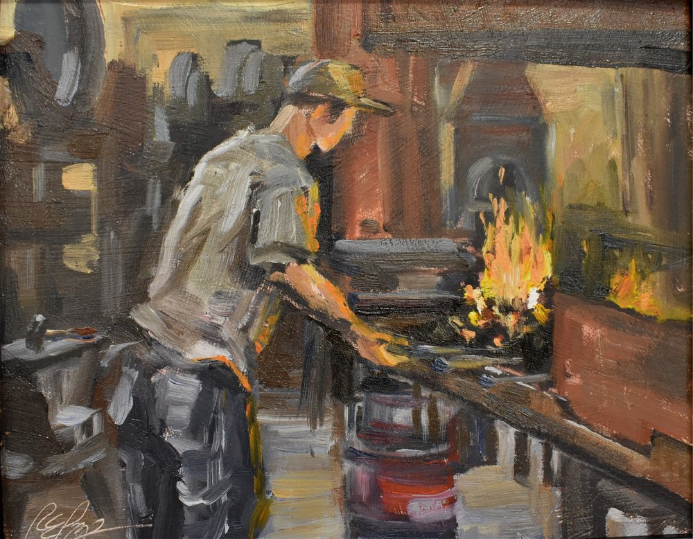matthew at the forge - Robin Popp.jpg