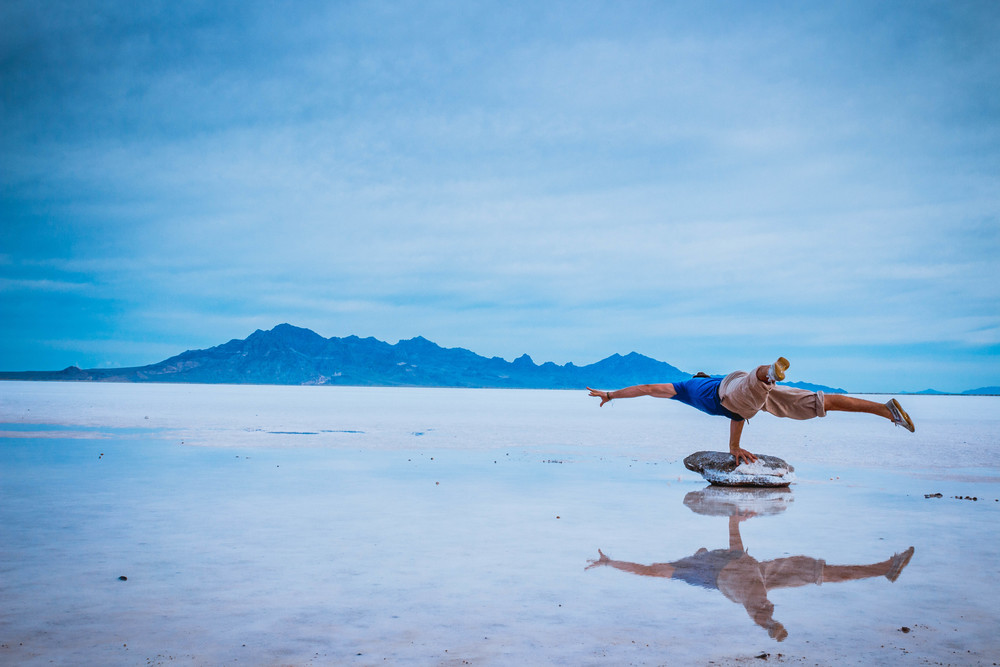 Shot at Utah Salt Flats