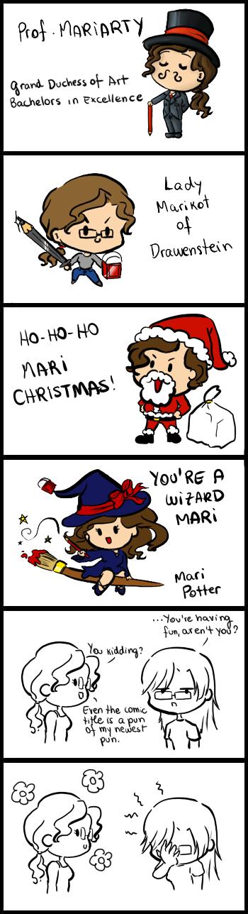 Magical puns