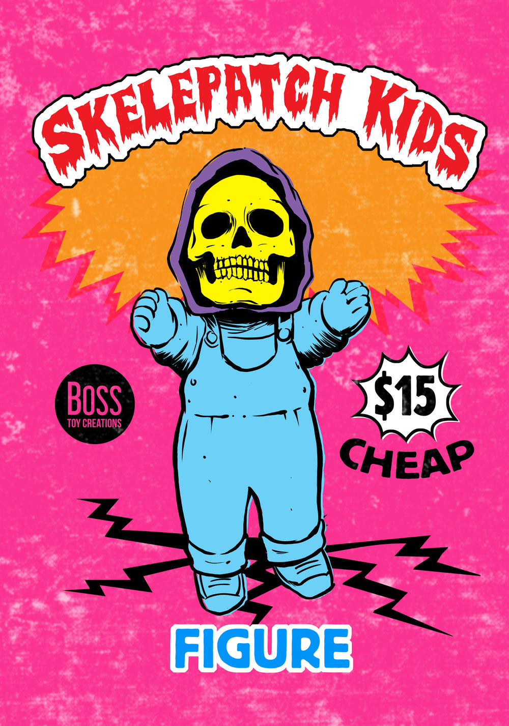 Skelepatch Kids Wax Packs, by Tim Baron