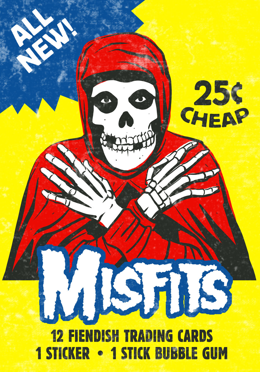 Misfits Wax Packs, by Tim Baron