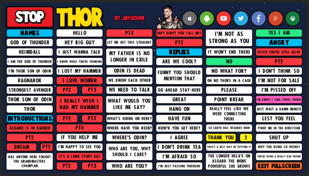 Thor sb preview