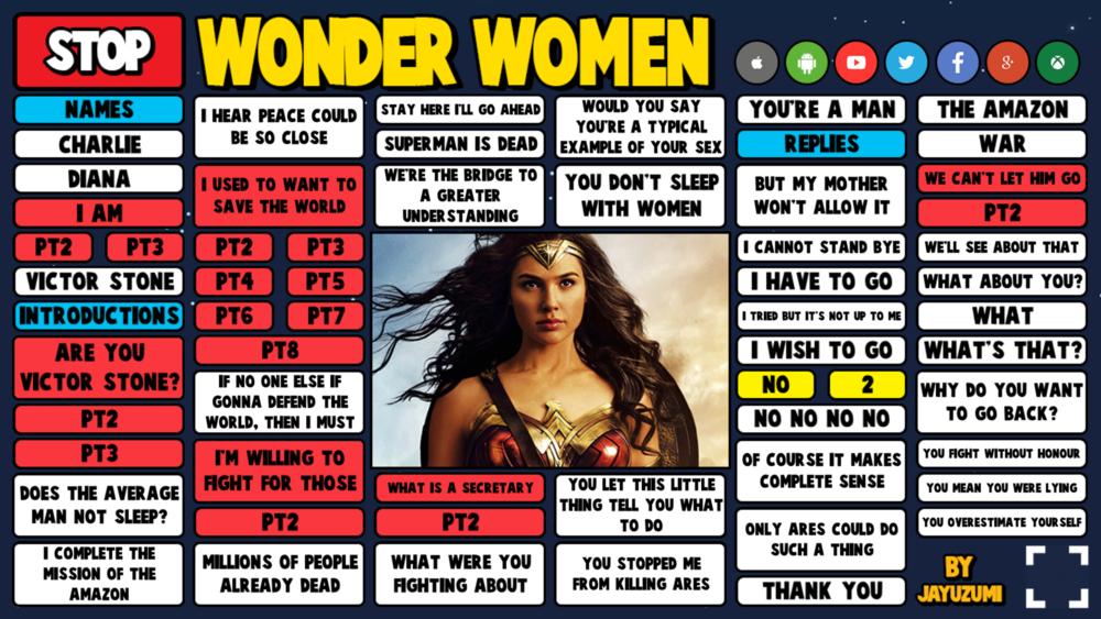WONDER WOMEN PREVIEW