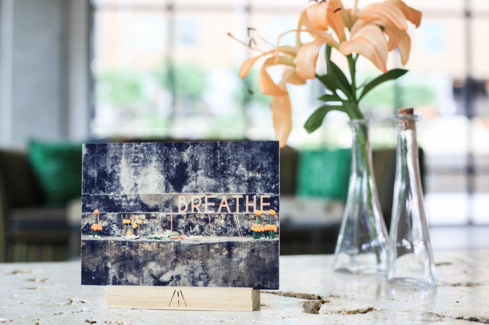 Breathe : 5x7 + Stand