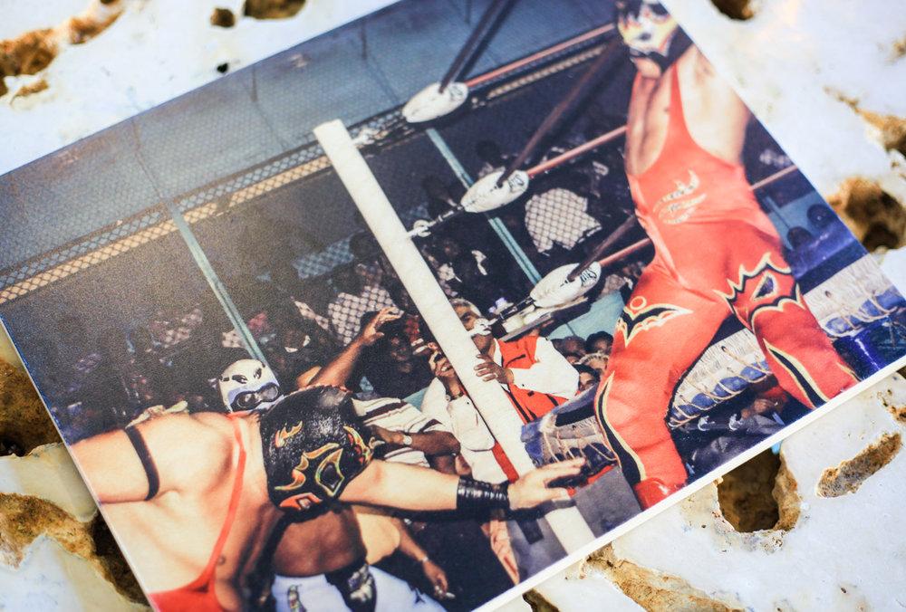 Lucha Libre Push : 11x14