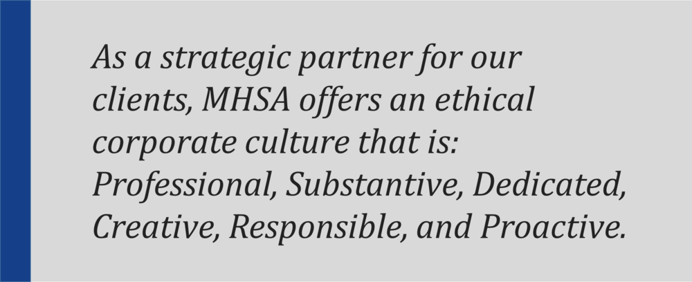 MHSA - A Michigan lobbying firm